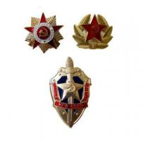Wholesale Russian Military Metal Badges Are Unisex Gifts from china suppliers