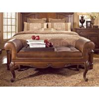 Buy cheap Bedroom Leather Bedroom Bench from wholesalers