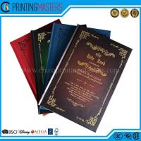 2017 High Quality Hard Cover Note Books Printing Manufactures