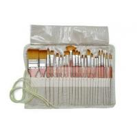 Buy cheap School Artists Body Paint Brushes Set Wood Watercolor Brushes Set with Pencil Case from wholesalers
