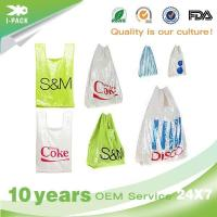 Buy cheap Printed Large Poly T Shirt Grocery Bags Costco from wholesalers
