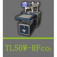Buy cheap laser marking machine TL-50W RF CO2 laser marking machine for nonmetal material. from wholesalers