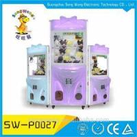 Buy cheap Fireproof Plywood Cabinet Flash Plastic Anti-shaking Mini Crane Claw Arcade Game Machine from wholesalers