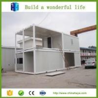 Buy cheap Heat insulation eps panel complete precast container cabin house from wholesalers