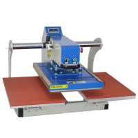 Wholesale Automatic Pneumatic Upper Glide Double Station Heat Press Machine from china suppliers
