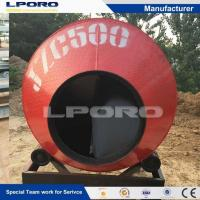 China JD Electric Motor Stationary Drum Concrete Mixer on sale