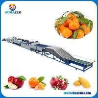 Buy cheap Drum Type Size Grading Round Fruits and Vegetable Sorting Machine from wholesalers