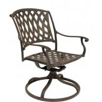 Buy cheap Outdoor Garden Cast Aluminum Swivel Dining Chair from wholesalers