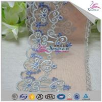 Buy cheap High Quality Colorful Bridal Cotton Eyelet Lace Trim for Garment from wholesalers