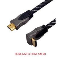 P/N:BN-HD010 HDMI Cable A Male to A Male Angle 90 Manufactures