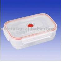 Buy cheap Beautifully green plastic lunch boxes of high-quality plastic buckle crisper cosmetics packaging from wholesalers