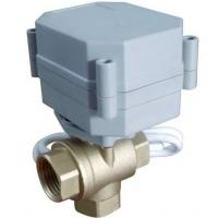 Buy cheap TF25-B3-A Brass Valve 1''(DN25) T type 3 way actuator ball valve 9-24V CR303 wiring from wholesalers