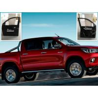 Buy cheap 2016 Toyota Hilux Revo Auto Body Parts Black Car Door Thickness 0.8mm from wholesalers