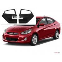 Buy cheap Solid Rear Car Door Replacement Hyundai Accent Parts Primer Coating Treatment 2012 from wholesalers