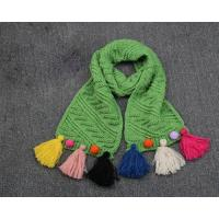 Buy cheap New Fashion Winter Kids Rochet Pattern Scarf Long Warm Neck Scarf for Toddler from wholesalers