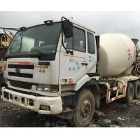 China Used NISSAN Concrete Mixer Trucks on sale