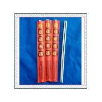 """9""""Round bamboo chopsticks with red envelope"""