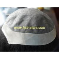 Human hair piece/toupee Mono top with NPU(in stock) Manufactures
