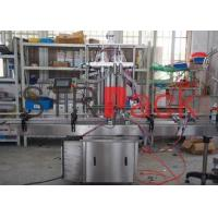 China Pneumatic Liquid Filling Machine for Food Beverage Chemical , water filling equipment on sale
