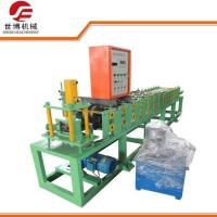 Shutter Door Cable Tray Roll Forming Machine , Steel Roll Forming Machine Manufactures