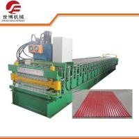 Double Deck Cable Tray Roll Forming Machine With Manual Decoiler Machine Manufactures
