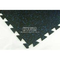 Colorful gym rubber tile H
