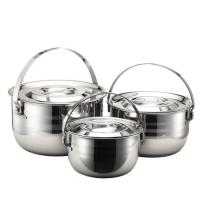 Buy cheap Three stainless steel pot(MC-210) from wholesalers