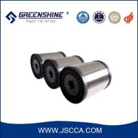 China Tinned copper clad aluminum alloy wire on sale