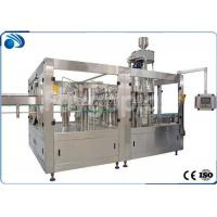 China Automatic Bottle Filling Machine For Juice / Beverage , SUS304 Hot Filling Machine on sale