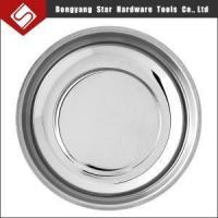 Buy cheap 4inch Magnetic Stainless Steel Metal Parts Mini Bowl Tray Holders with Hole from wholesalers