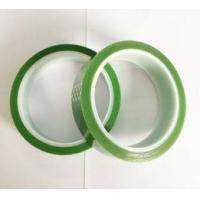 Single Side Light Green High Temperature Resistant Tape 650mm Length Manufactures