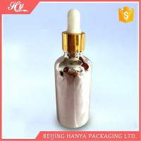 Wholesale 100ml Silvery Glass Bottle with Dropper from china suppliers