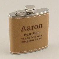 342 Leather hip flask Manufactures