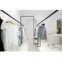 China Showroom Bright and Simple, Black Lines Style, Personalized Modeling, Terminal Women's Store Design on sale