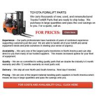 Buy cheap Toyota Forklift Part from wholesalers