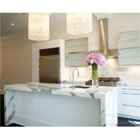 Buy cheap Best Cost of Calacatta Marble Kitchen Countertops Design from wholesalers