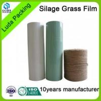 Buy cheap white width bale wrapping film black width agriculture silage film from wholesalers