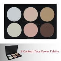 Wholesale Eye Shadow 6 color contour palette 06II from china suppliers