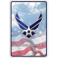 Buy cheap Air Force Sm. Parking Sign from wholesalers