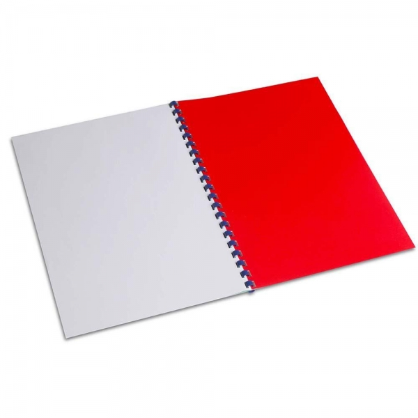 Quality A4 PVC BINDING COVER RED for sale