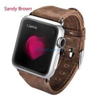 Wholesale iCarer Crazy Horse Genuine Leather Watchband For Apple Watch from china suppliers