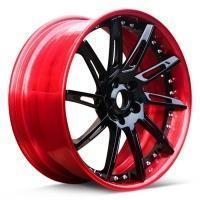 Buy cheap OEM multi deep concave rims wheels for mustang from wholesalers