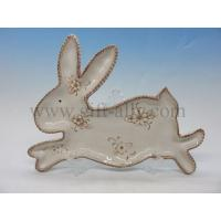 Buy cheap C0012 Ceramic Bunny Plate from wholesalers