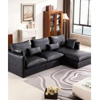 Wholesale Apartment Leather L Shaped Corner Sofa from china suppliers
