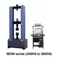 Buy cheap universal tensile testing machine price of single arm type from wholesalers