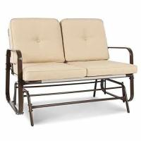 Buy cheap Best Choice Products 2 Person Loveseat Glider Rocking Chair Bench Patio Deck Furniture from wholesalers