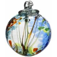 Buy cheap Kitras Art Glass Decorative Spirit Ball, 6-Inch, Light Blue from wholesalers