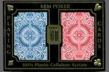 Buy cheap KEM ARROW NARROW Size Playing Cards(2 Decks - Red / Blue) Plastic Paper Marked Cards from wholesalers