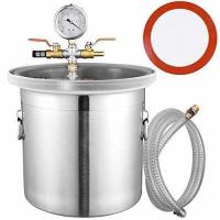 Buy cheap Yescom 3 Gallon Stainless Steel Vacuum Chamber kit to Degass Urethanes Silicones Epoxies from wholesalers