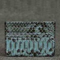 Buy cheap Real exotic python skin Credit Card Holder from wholesalers